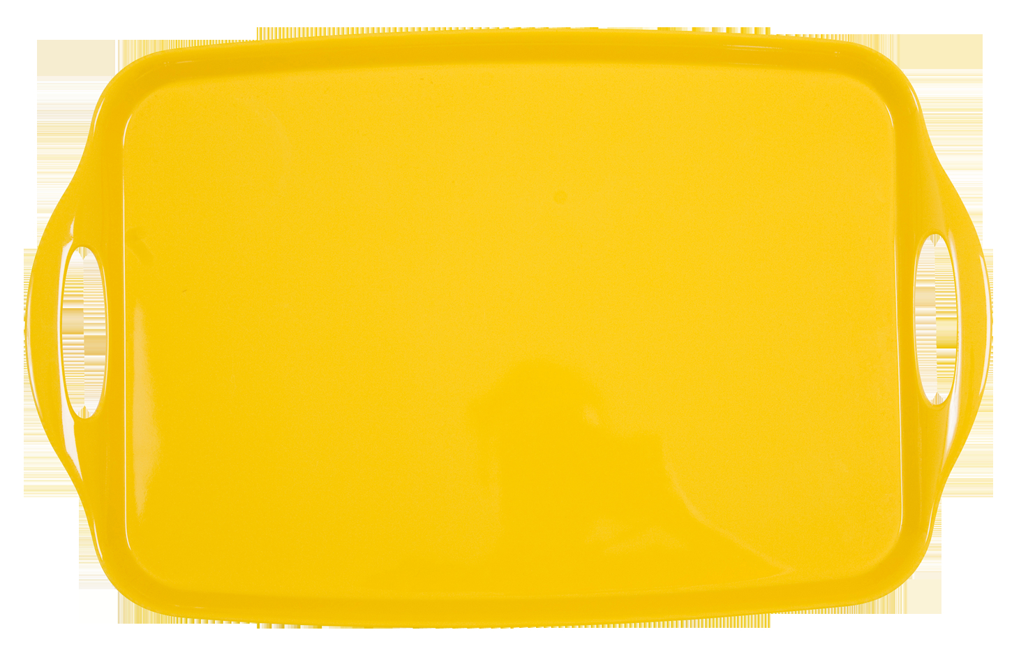 Melamine Tray in Solid Colours - Yellow