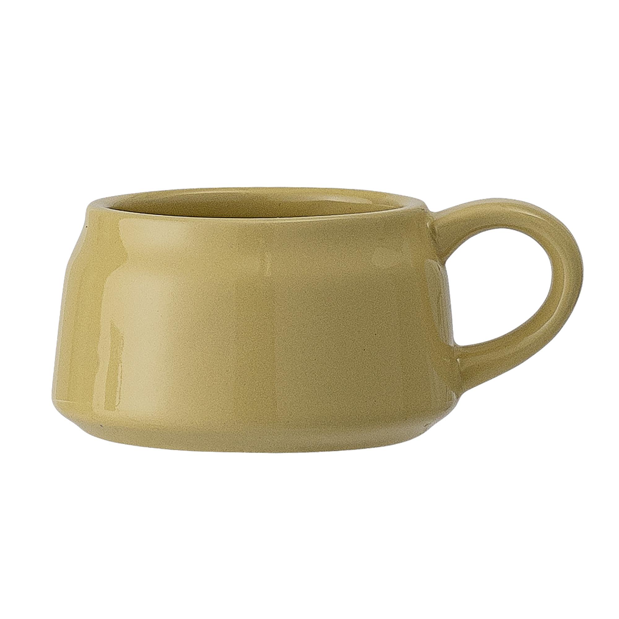 Espressotasse Susie Gelb Keramik Geschirr Bloomingville Lieblingsmarken Riva Onlineshop