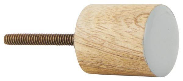 Knauf Mangoholz Zylinder mit Grauer Front von IB Laursen