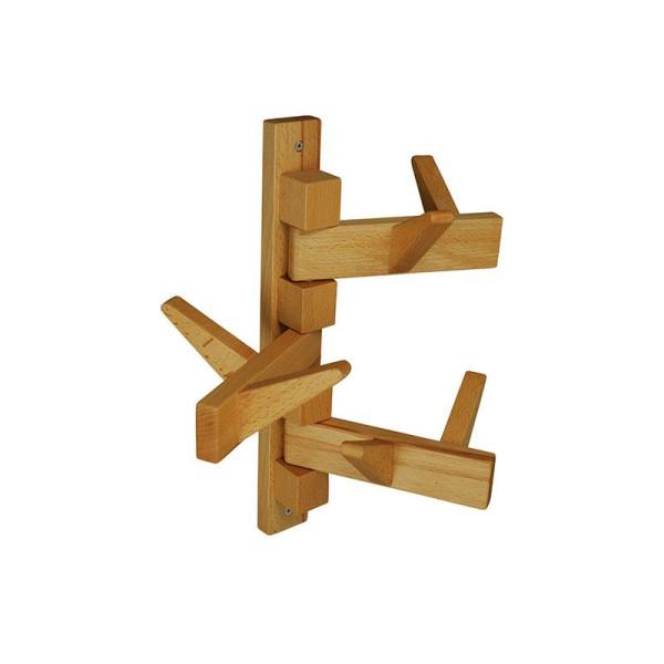 Wand Garderobe Holz