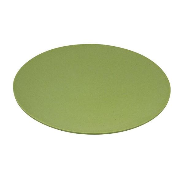 Teller LARGE BITE Green Pastell