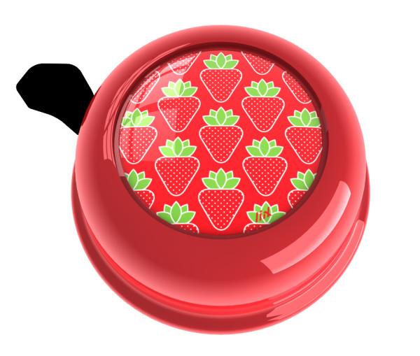 Fahrradklingel Colour Bell Erdbeeren