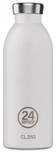 Thermosflasche Clima Arctic White 0,5L von 24bottles