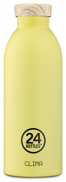 Thermosflasche Clima Citrus Wooden Lid 0,5L von 24bottles