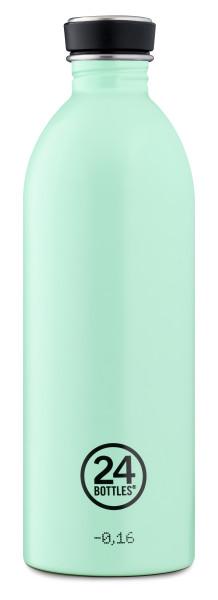 Trinkflasche Aqua Green 1L von 24bottles