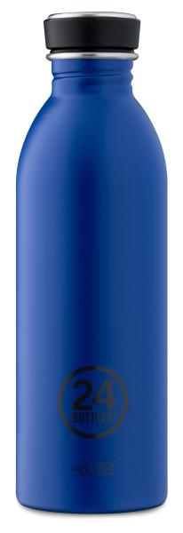Trinkflasche Gold Blue 0,5L von 24bottles
