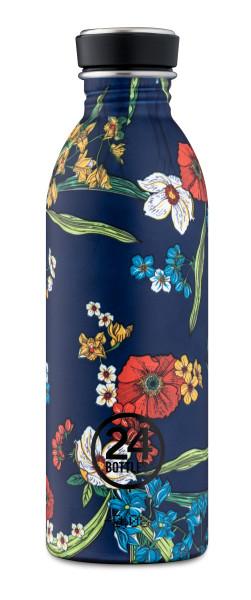 Trinkflasche Urban Denim Bouquet 0,5L von 24bottles