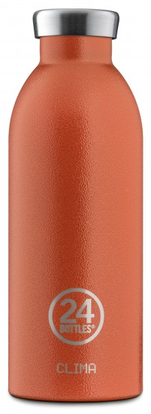 Thermosflasche Clima Sunset Orange 0,5L von 24bottles