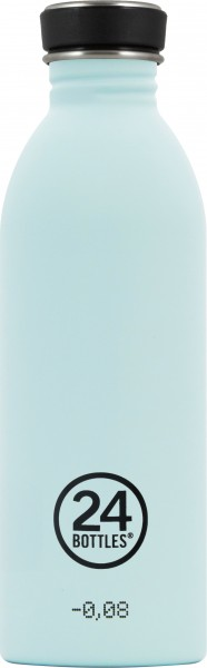 Trinkflasche Urban Wolken Blau 0,5L von 24bottles