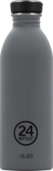24bottles Trinkflasche Urban Formal Grau 0,5L