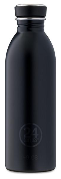 Trinkflasche Urban Tuxedo Schwarz 0,5L von 24bottles
