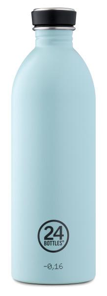 Trinkflasche Urban Cloud Blue 1L von 24bottles