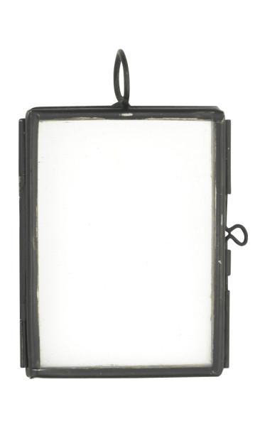 Mini Bilderrahmen Schwarz mit klarem Glas von Madam Stoltz