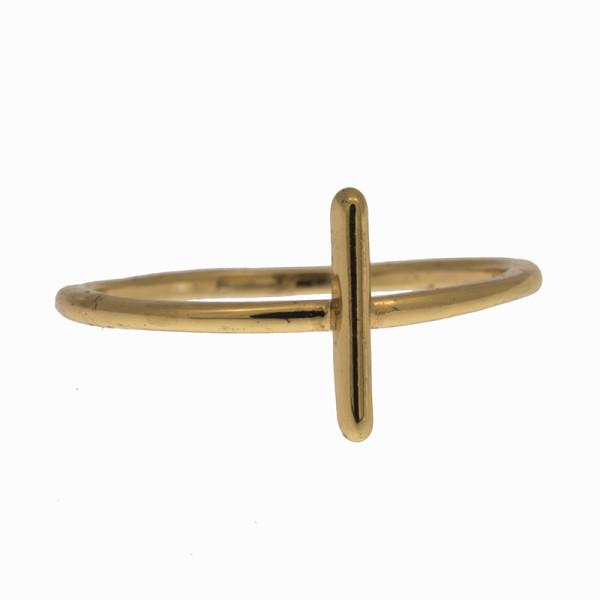 Ring Rod, vergoldet 02