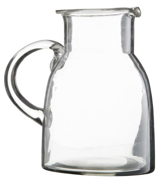 Wasserkrug Glas mit Griff