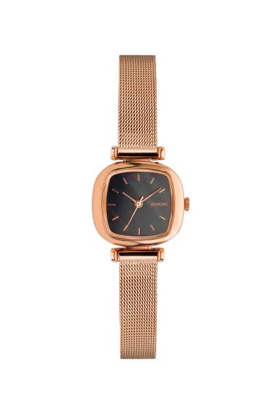 Armbanduhr Moneypenny Royale Rose Gold Schwarz