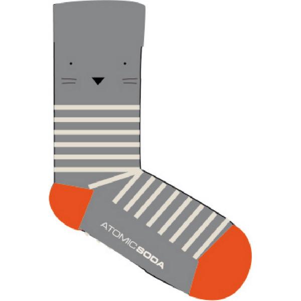 Socken STRIPES Grau