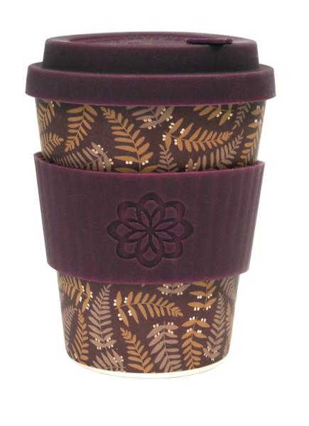 To Go Becher Beatrix + Deckel mit Tropfschutz von ecoffee cup