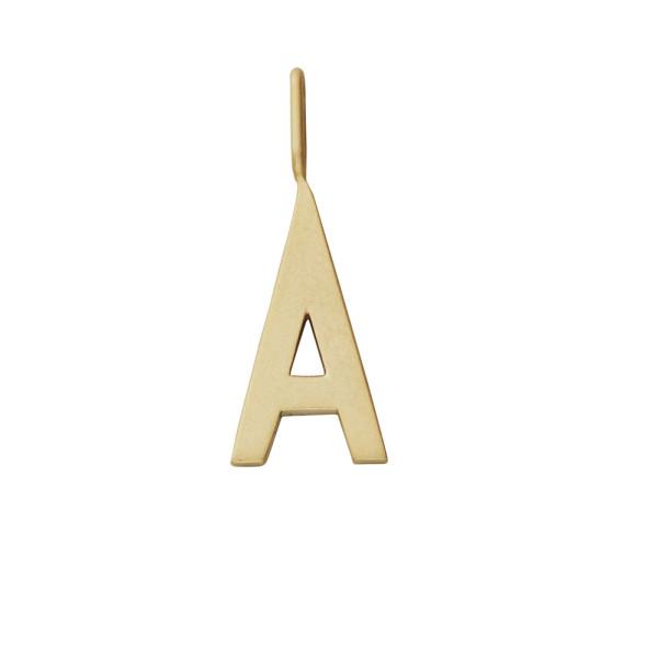 Anhänger A Gold von Design Letters
