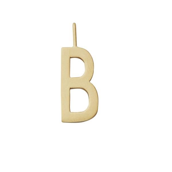 Anhänger B Gold von Design Letters