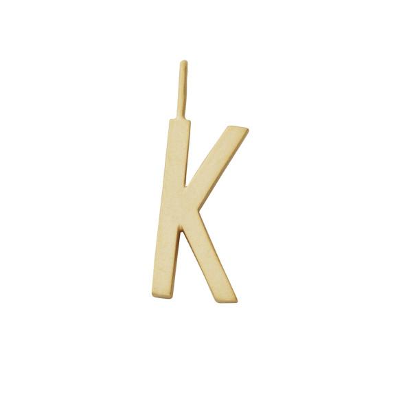 Anhänger K Gold von Design Letters