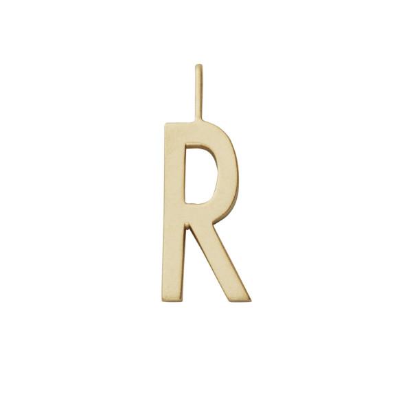 Anhänger R Gold von Design Letters