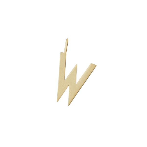 Anhänger W Gold von Design Letters