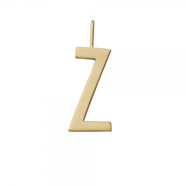 Anhänger Z Gold von Design Letters