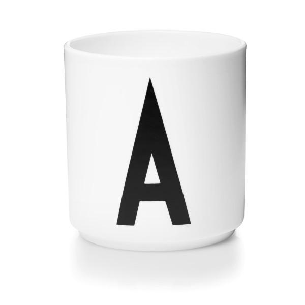 Porzellan Becher Weiß A von Design Letters