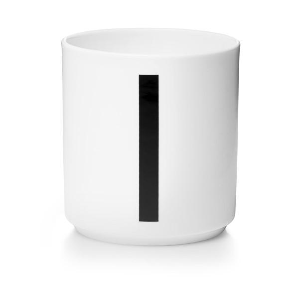 Porzellan Becher Weiß I von Design Letters