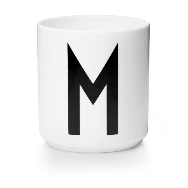 Porzellan Becher Weiß M von Design Letters