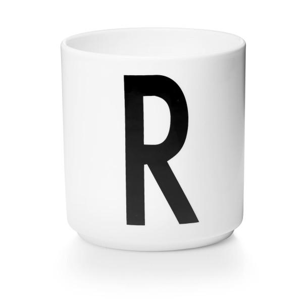 Porzellan Becher Weiß R von Design Letters