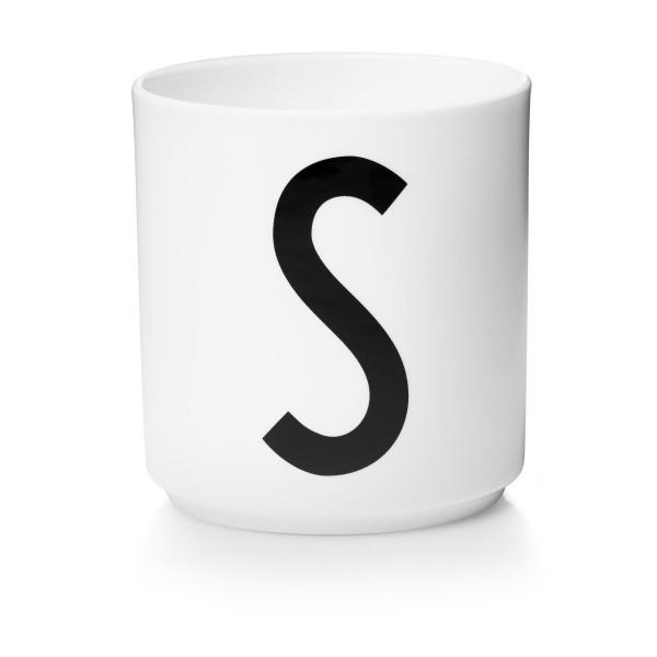Porzellan Becher Weiß S von Design Letters