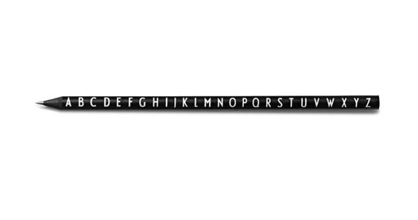 Bleistift ABC Schwarz von Design Letters