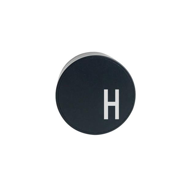 Design Letters Netzstecker für Ladekabel Buchstabe H