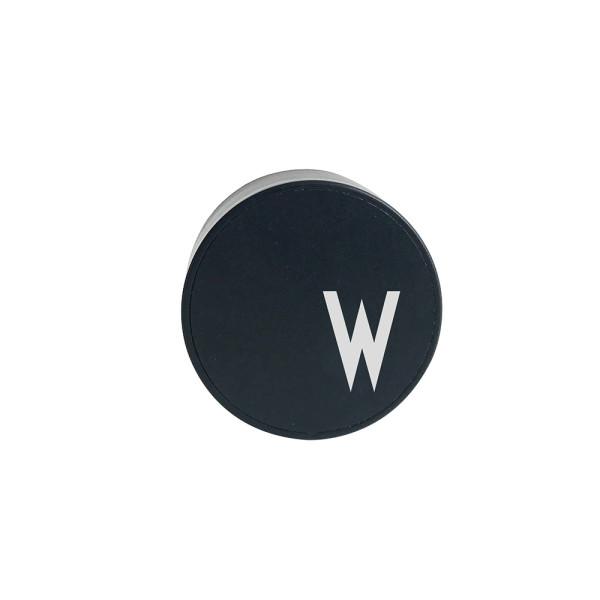 Design Letters Netzstecker für Ladekabel Buchstabe W