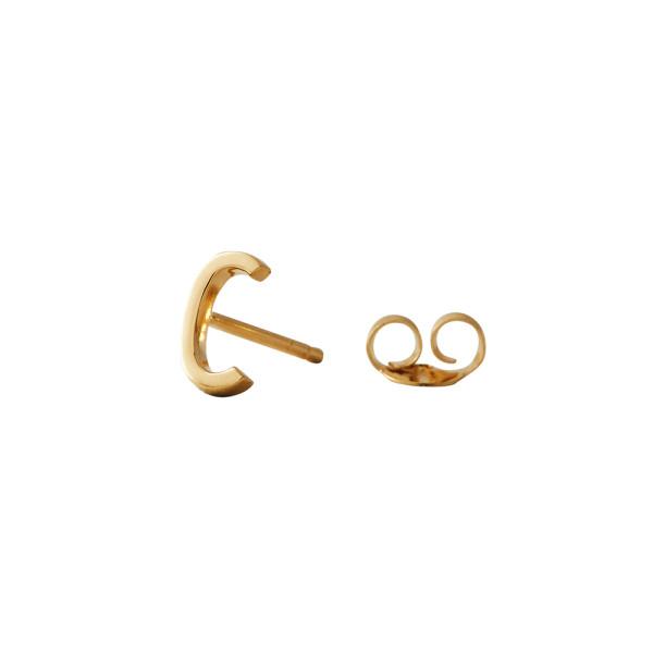 Ohrstecker C Gold von Design Letters