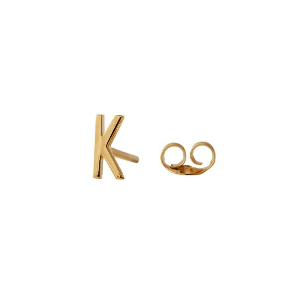 Ohrstecker K Gold von Design Letters