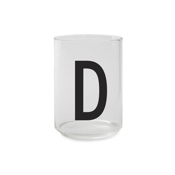 Trinkglas D von Design Letters