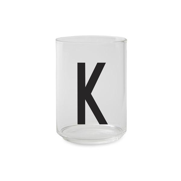 Trinkglas K von Design Letters