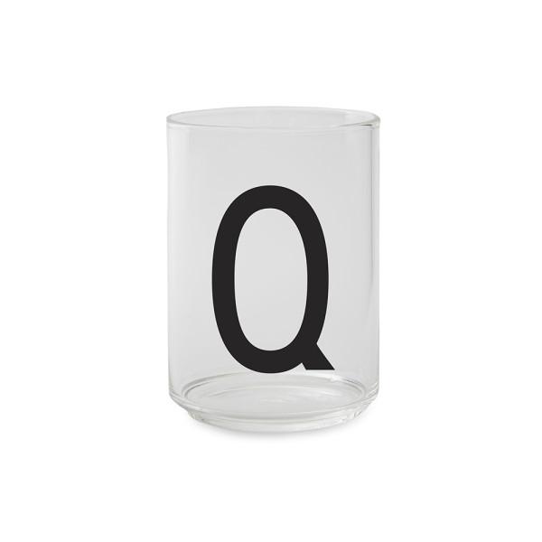 Design Letters Trinkglas Buchstabe Q