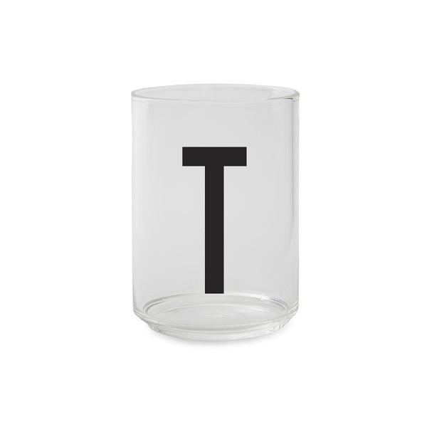 Trinkglas T von Design Letters