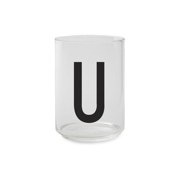 Trinkglas U von Design Letters
