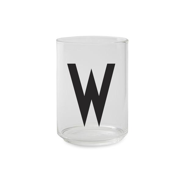 Trinkglas W von Design Letters