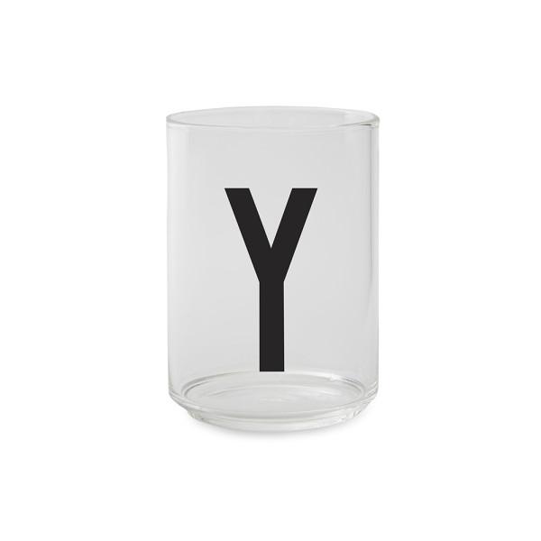 Trinkglas Y von Design Letters