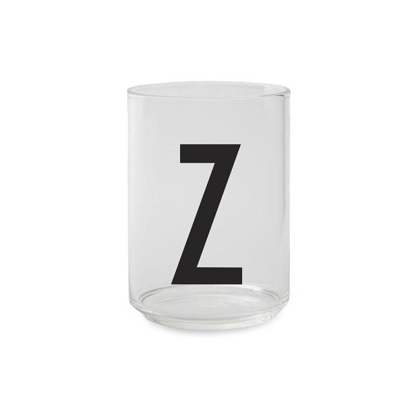 Trinkglas Z von Design Letters
