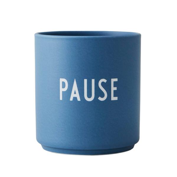 Porzellan Becher PAUSE von Design Letters