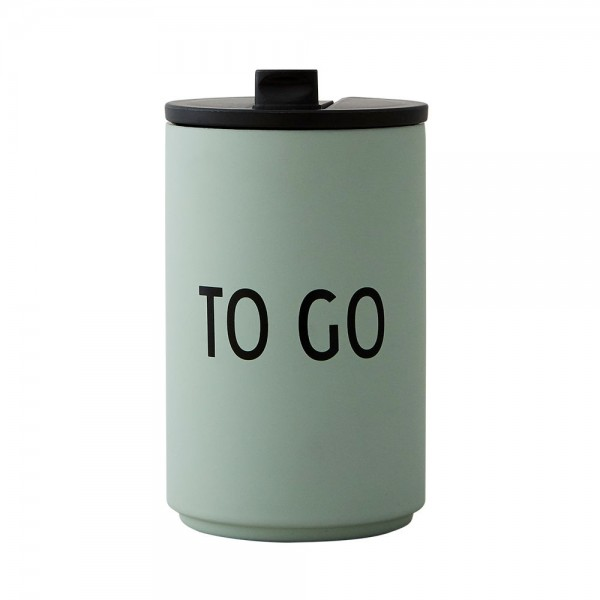 Thermos To Go Becher TOGO Grün von Design Letters