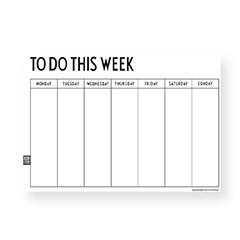 Wochenplaner Weekly Planer von Design Letters