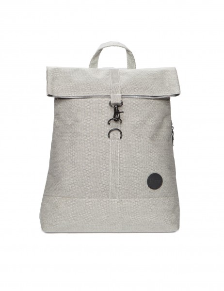 City Fold Top Backpack, Melange Black von Enter